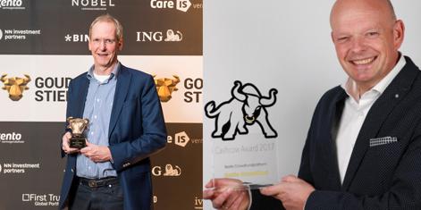 Collin Crowdfund wint opnieuw de Gouden Stier en de Cashcow Award
