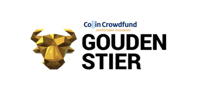 Collin Crowdfund wint voor het tweede jaar op rij de Gouden Stier