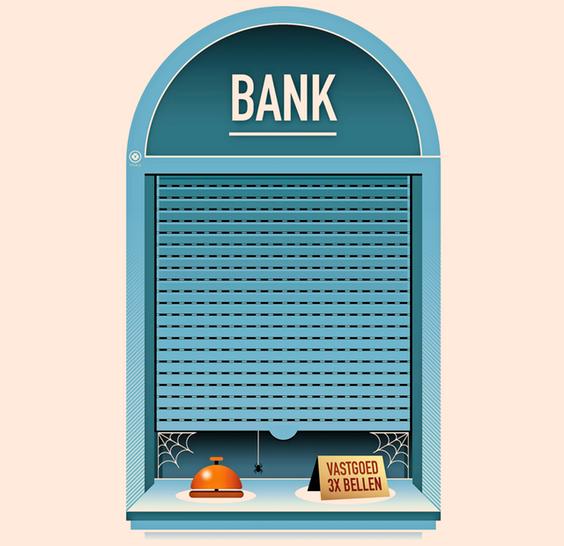 Bankloket nog maar op een kier voor vastgoedondernemer